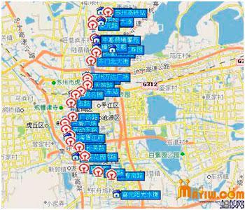 苏州地铁二号线线路图及站点图片